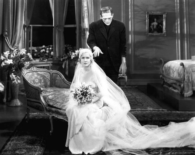 It's hard out there for a bride. Mae Clarke in 1931's Frankenstein.