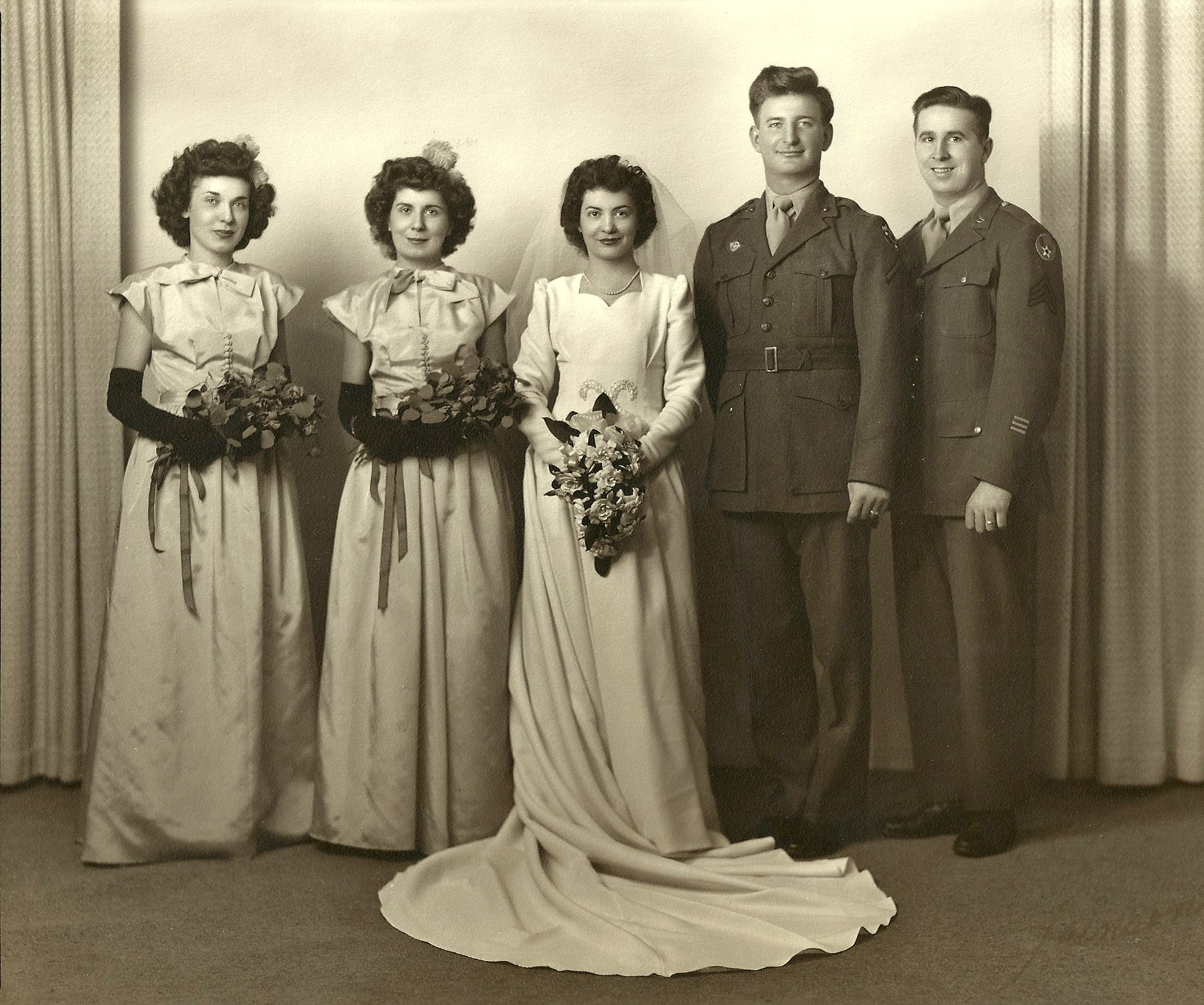 WeddingParty1945a