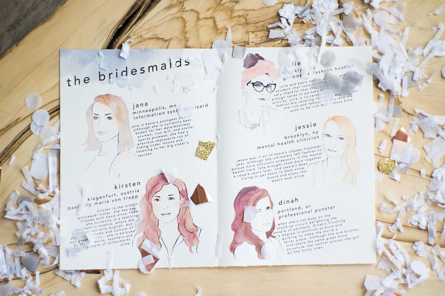 Can You Match The Illustrated Bridesmaid To Real Life